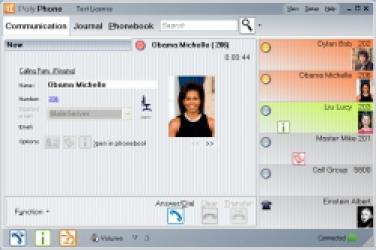 CTI aplikace PolyPhone