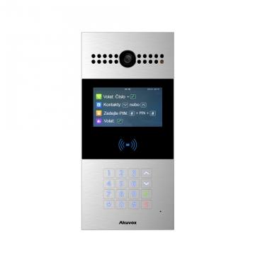 Akuvox R28A IP Video Intercom sklávesnicí ačtečkou karet