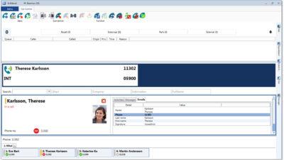 Mitel InAttend – operátorské pracoviště pro Mitel MiVoice MX-ONE